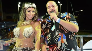 Tiago Abravanel e  Luana Monalisa agitam trio elétrico em Salvador 3