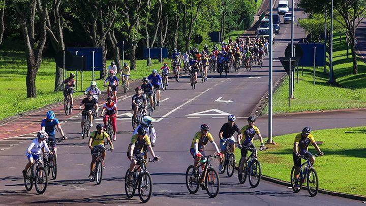 Ciclismo em Itaipu