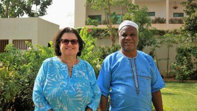 Delegação brasileira é recebida na sede da Embaixada do Brasil em Burkina Faso 3