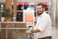 Rafael Fiedler o homem  a frente do Garten Shopping 2