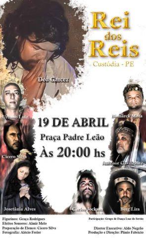 Déo Garcez viverá Jesus Cristo pela quinta vez no maior teatro ao ar livre do sertão paraibano 3