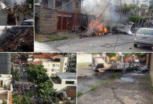 Avião de pequeno porte cai em área residencial de Belo Horizonte. Divulgação