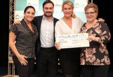 Da esquerda para a direita: Lydia Leão Sayeg, Filipe Sabará, Bia Dória e Cláudia Bonfliglioli.