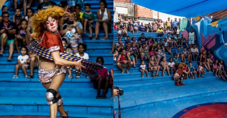 Circo do Asfalto - Foto de Ricardo Avellar