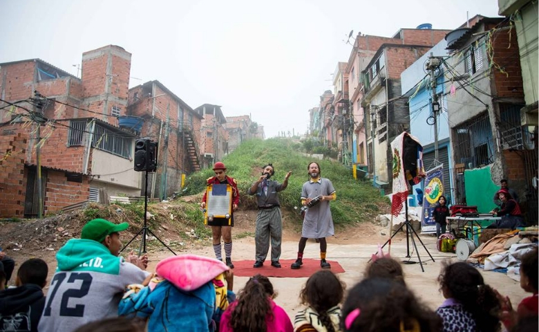 De Olho no Duto promove um Dia de Circo - Pequena Trupe de Circo - Foto de Noel Filho