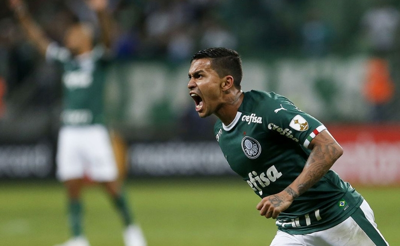 Palmeiras goleia Junior Barranquilla pela Libertadores - Dudu deixou sua marca na vitória desta quarta-feira - Foto Marco Galvão-Fotoarena-Estadão Conteúdo