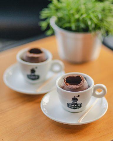 Café espresso no ovo de chocolate é a novidade da Páscoa no Café Cultura