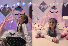 Festa do pijama reúne amigas de Lorena Queiroz em sua casa 10