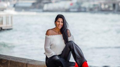 Modelo Juliana Omayra surge mais magra ao posar para fotos em Paris 2
