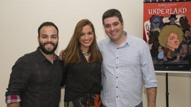 Os sócios Antonio Bento Ferraz, Ariane Rocha e Cadu Mader