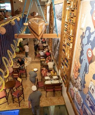 restaurante, ostradamus, coqueiros, chef, jaime barcelos, canto da sereia, gastronomia, florianopolis