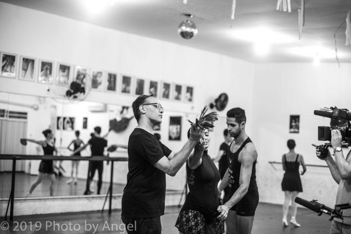 Cineasta alemã dirige filme no Brasil sobre Cia Ballet de Cegos 5