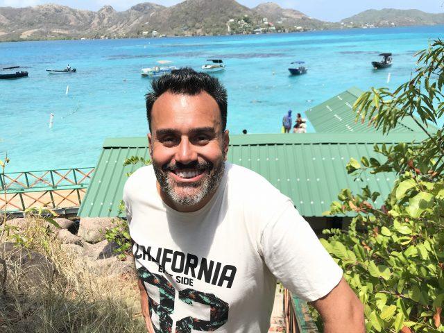 Fabio Ramalho: explorando as profundezas do Caribe em Providência. Foto divulgação.