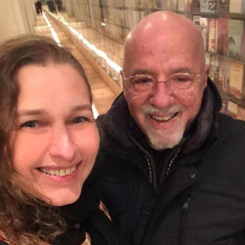 Denise Tremura e Paulo Coelho - foto: divulgação