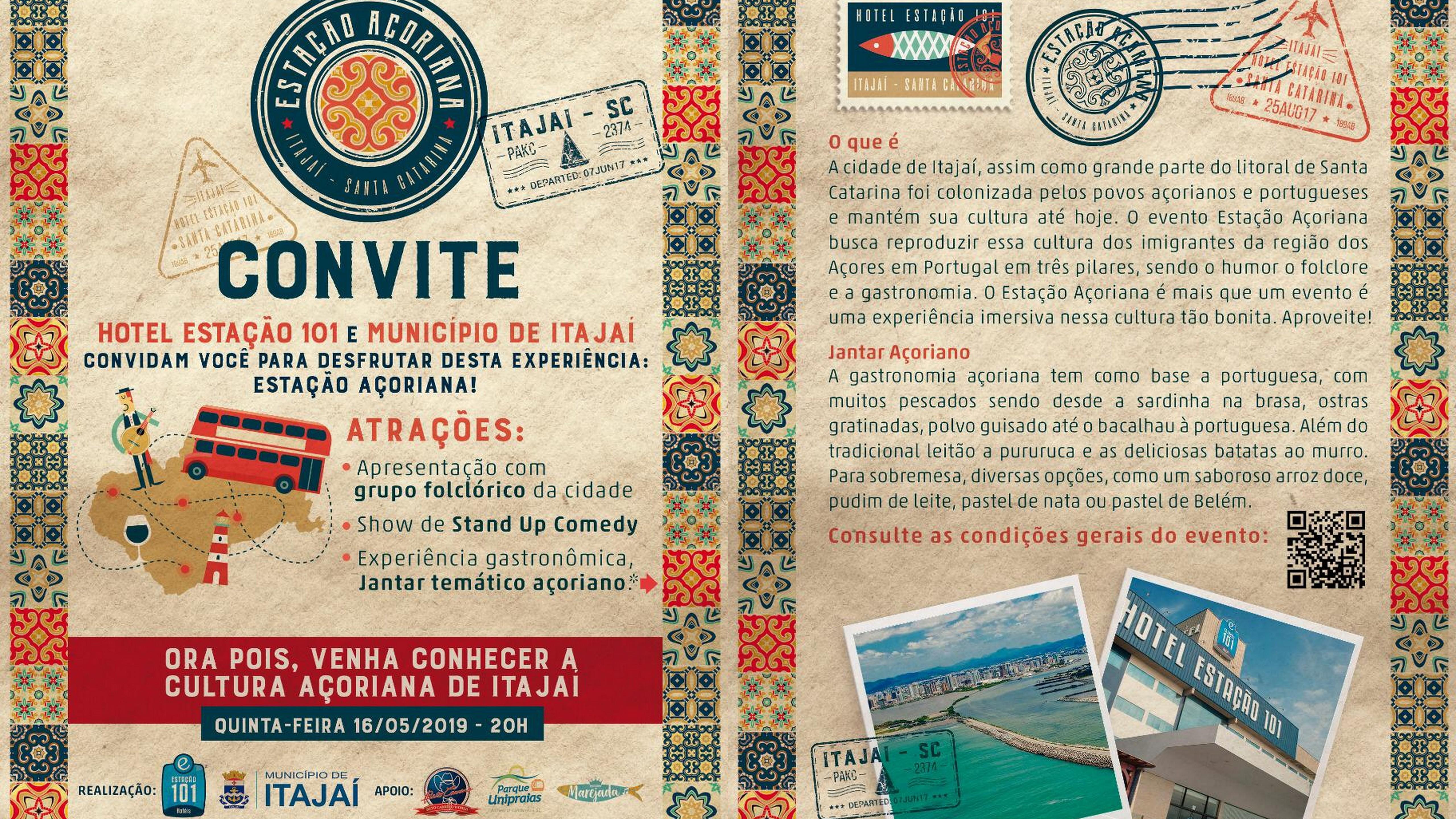 Hotel Estação 101 promove noite açoriana em Itajaí - SC 3