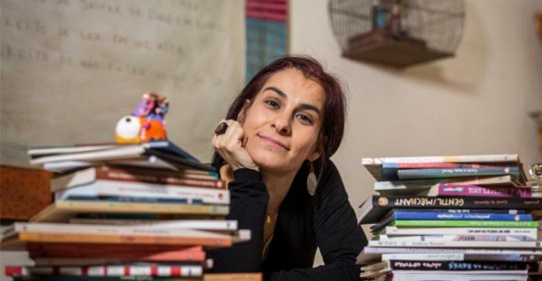 Escritores portugueses Mafalda Milhões  e Nuno Costa participam da Feira do Livro de Joinville 1