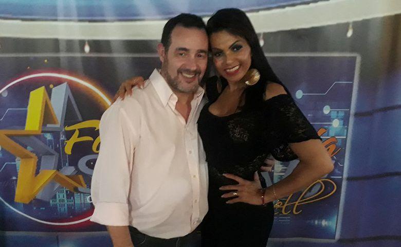 Reinaldo Dutra e Aleemary Mell - Foto: Reinaldo Dutra