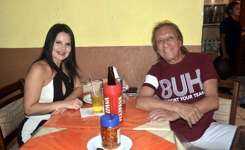 Romy Andrade e Laercio Passos - Foto: Reinaldo Dutra