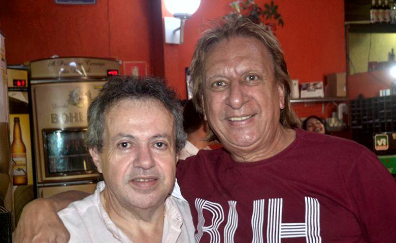 João Mota e Laércio Passos - Foto: Reinaldo Dutra