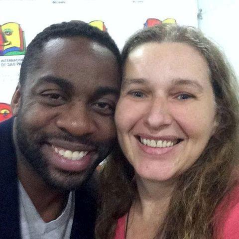 Denise Tremura e Lázaro Ramos - foto: divulgação