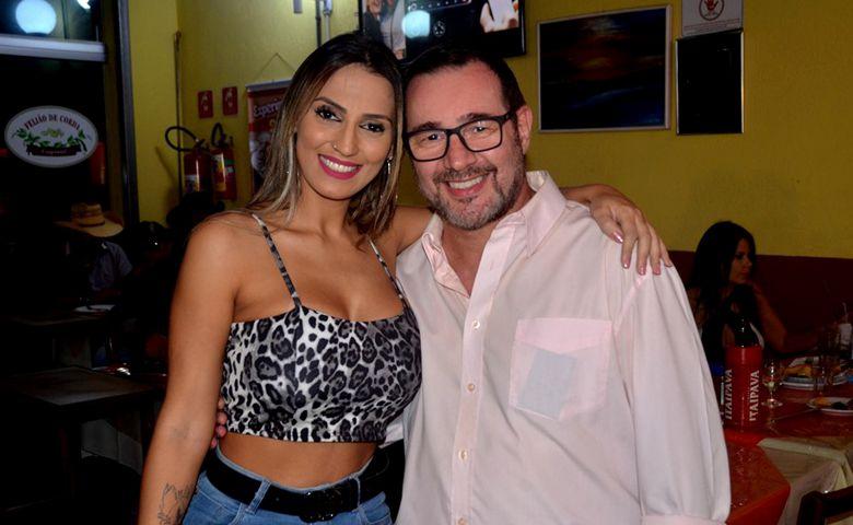 Renata Tardoni e Reinaldo Dutra - Foto: Reinaldo Dutra