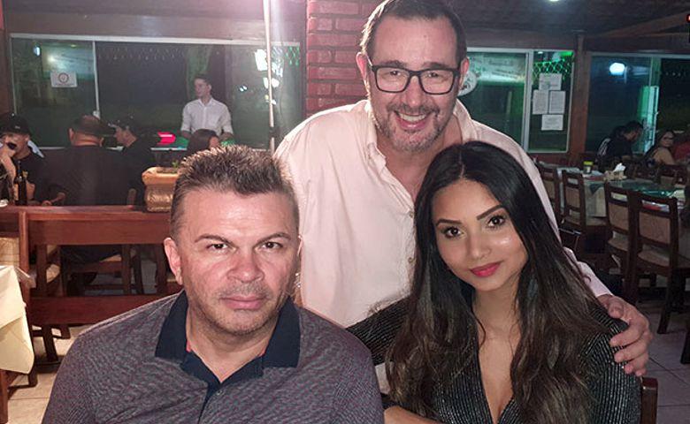Beto Campbell, Carol Furtado e Reinaldo Dutra - Foto: Reinaldo Dutra