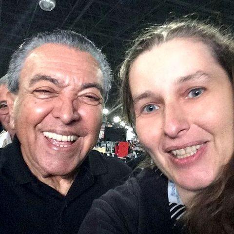 Denise Tremura e Maurício de Souza - foto: divulgação