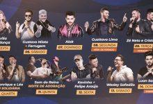 A Expô Araçatuba lançou a sua grade de shows 2019 8