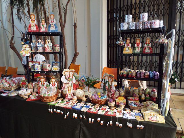 Festival conta com exposição e venda de artesanato típico. Foto divulgação.