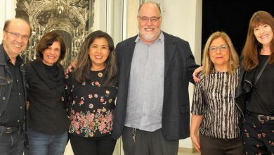 """Fernando Ekman celebra com artistas sua Vernissage na Galeria Joh Mabe da exposição """"Boca de Cena"""" 1"""