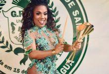 Premiada como melhor rainha, Caroline Lima segue na União de Jacarepaguá 8