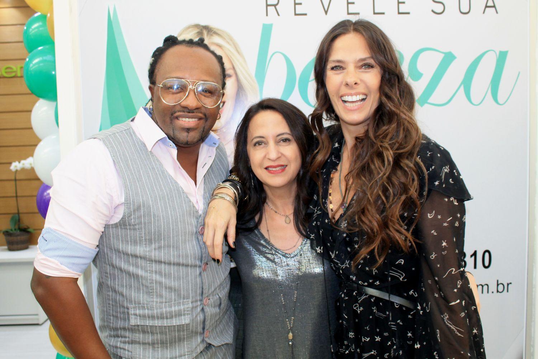 Claudinho do Negritude Jr, Dra.Silvia Takakuwa e Adriane Galisteu - Foto: Renato Cipriano