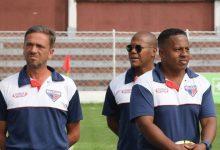 (Imagem - Luiz Cavalheiro (esquerda) e Jackson Ribeiro (ao fundo) / Foto: Marcelo Germano)