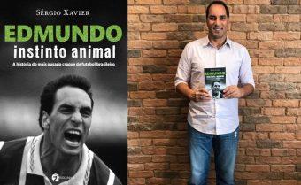 Edmundo: Instinto Animal, livro que será lançado em junho pela Editora Seoman