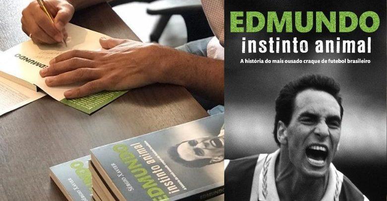 Edmundo  Obra do polêmico atacante aborda vida dentro e fora de campo 1
