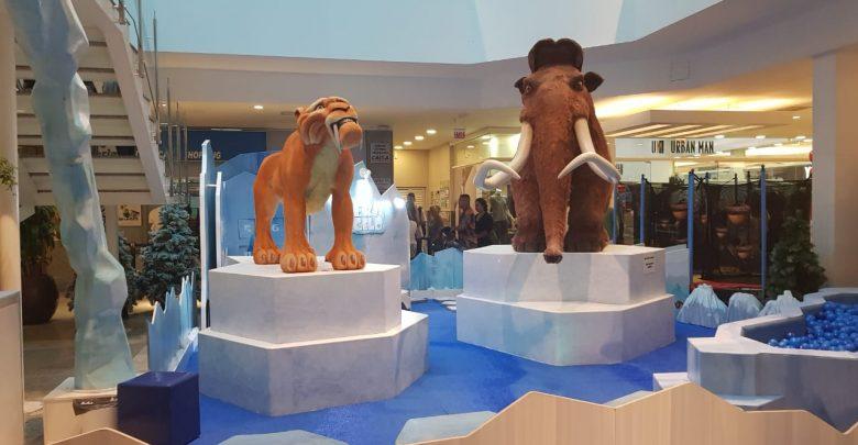 Itajaí Shopping lança campanha do agasalho com temática da animação A Era do Gelo 1
