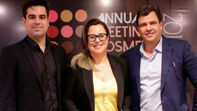 Paulo Vitor Porto, ao lado dos idealizadores do AMC 2019, Janaina Hassim e Lásaro do Carmo