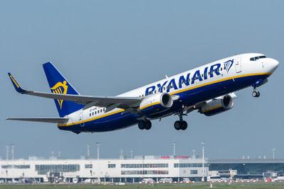 Ryanair supera novos padrões de segurança para voo com rastreamento da GlobalBeacon 1