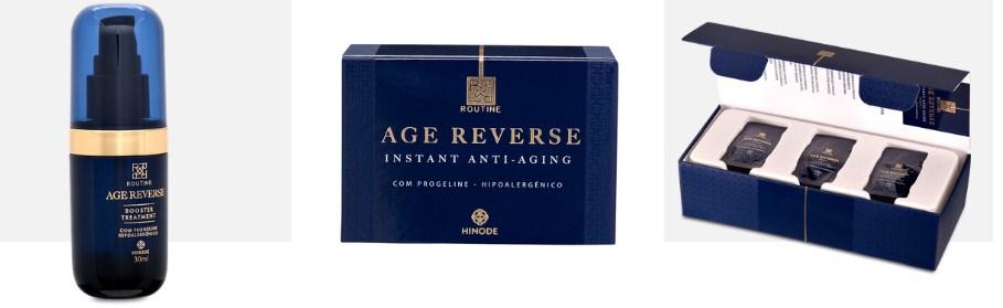 Foto Divulgação: Age Reverse e Age Reverse Booster Treatment