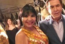 A primeira dama do colunismo do Nordeste Aninha Monteiro presente na estreia do Amaury Jr 7