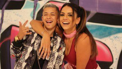 Tainá Grando grava clipe com revelação do funk MC Little e revela seu lado 'menininha' 2