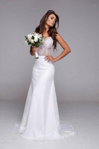 Pre wedding: noiva de Leandrinho Barbosa arrasa em ensaio para editorial de noivas 5