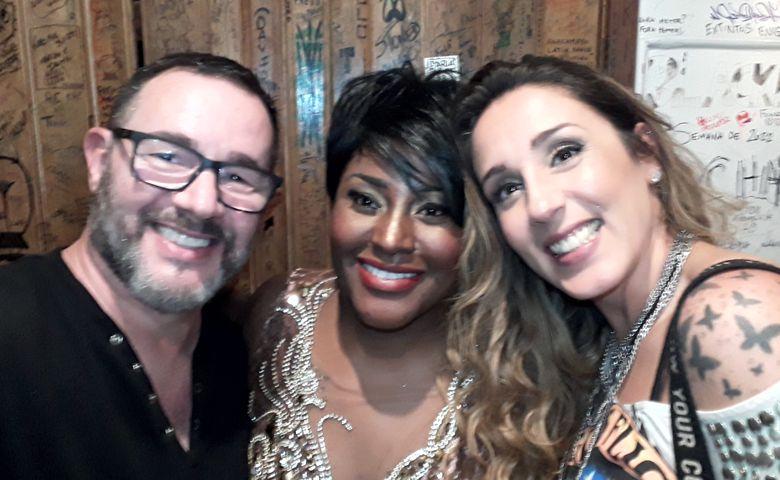 Reinaldo Dutra, Vanessa Jackson e Anna Lú - Foto: Reinaldo Dutra