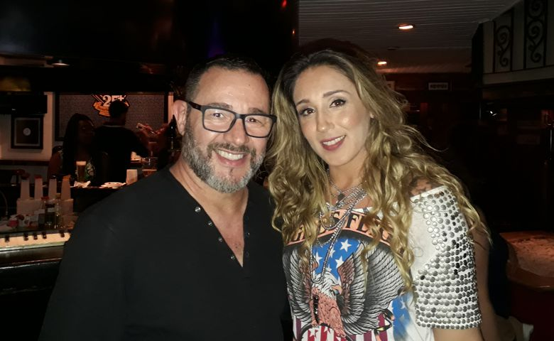 Reinaldo Dutra e Anna Lú - Foto: Carlos Bill