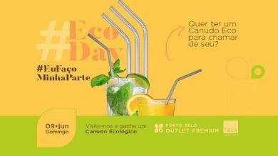 800 canudos ecológicos serão distribuídos no Porto Belo Outlet Premium 3