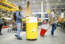 SKOL abre a roda para todo mundo e testa carrinho de  compras que auxilia pessoas com deficiência visual nos supermercados 2