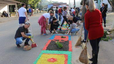 Tapete solidário será preparado para o Dia de Corpus Christi 5