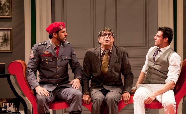 Homens no Divã -Guilherme, Darson e Herrera -foto Eliane Souza