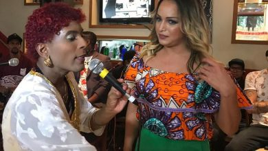 Lisa Gomes, Repórter doTv Fama, é homenageada em Feijoada repleta de famosos 2