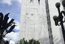 Mural homenageia Cruz e Sousa no Centro de Florianópolis 9